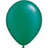 Metallic Emerald Green Helium Latex Balloons