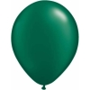Metallic Forest Green Helium Latex Balloons