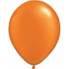 Metallic Orange Mandarin Helium Latex Balloons