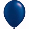 Metallic Midnight Blue Helium Latex Balloons