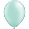 Pearl MInt Green Helium Latex Balloons