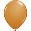 Mocha Brown Helium Latex Balloons