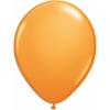Orange Helium Latex Balloons