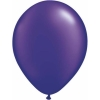 Metallic Purple Quartz Helium Latex Balloons