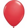 Red Helium Latex Balloons
