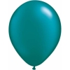 Metallic Teal Helium Latex Balloons
