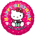 Hello Kitty Happy Birthday Balloon