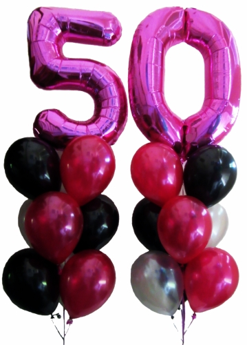 50th Birthday Balloons Helium Balloons Perth 50