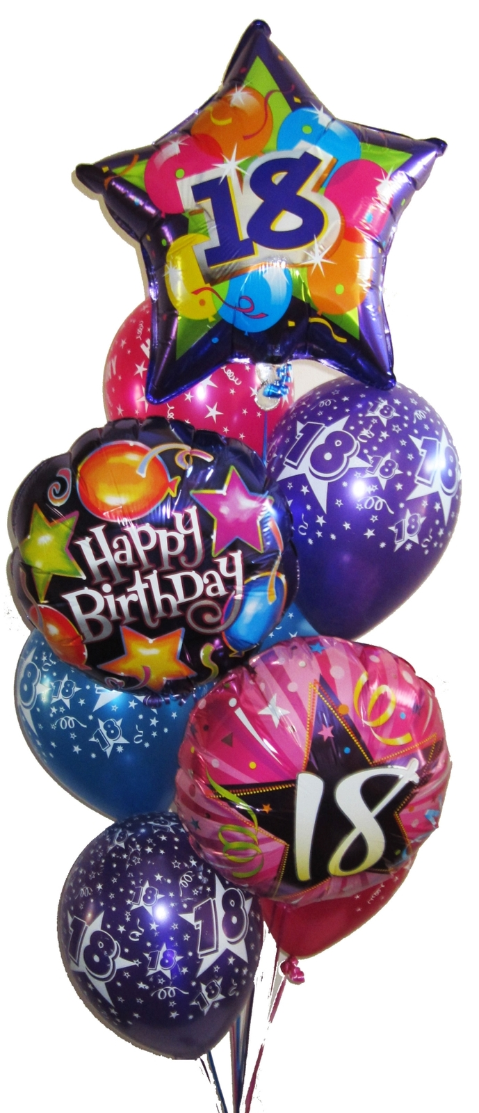 18th Birthday Balloon Bouquets