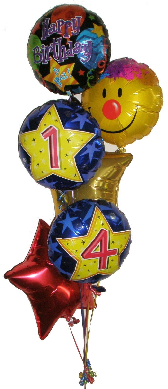 Foil balloon bouquet helium bouquets gift