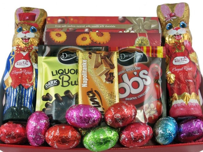 Easter gift baskets easter eggs perth big bunny easter gift catalogue easter egg baskets gifts enlarge negle Image collections