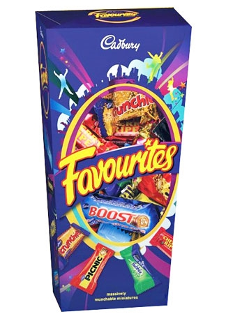 Gift Hampers And Gift Baskets Add Cadbury Favourites