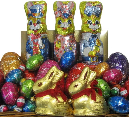 Easter egg baskets easter gift baskets perth mega easter egg enlarge negle Choice Image