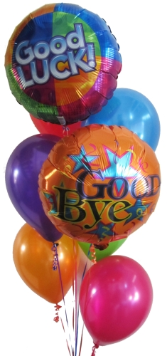 Good Bye Balloons Good Luck Balloons Helium Balloons