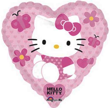 helium balloons perth | hello kitty heart balloons | hello