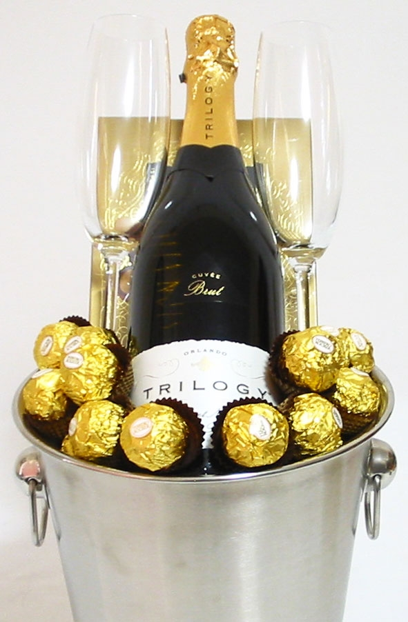 Champagne Gifts Perth Trilogy Ice Bucket Gift Trilogy