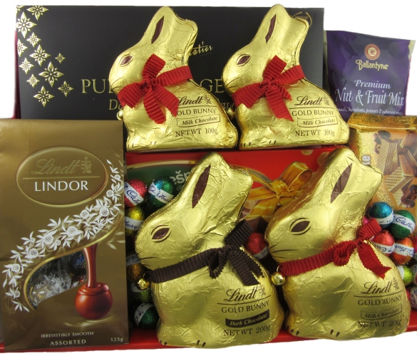 Lindt easter egg baskets easter gift baskets perth lindt luxury catalogue easter egg baskets gifts enlarge negle
