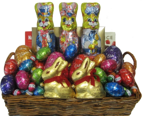 Easter egg baskets easter gift baskets perth mega easter egg mega easter egg hamper negle Gallery