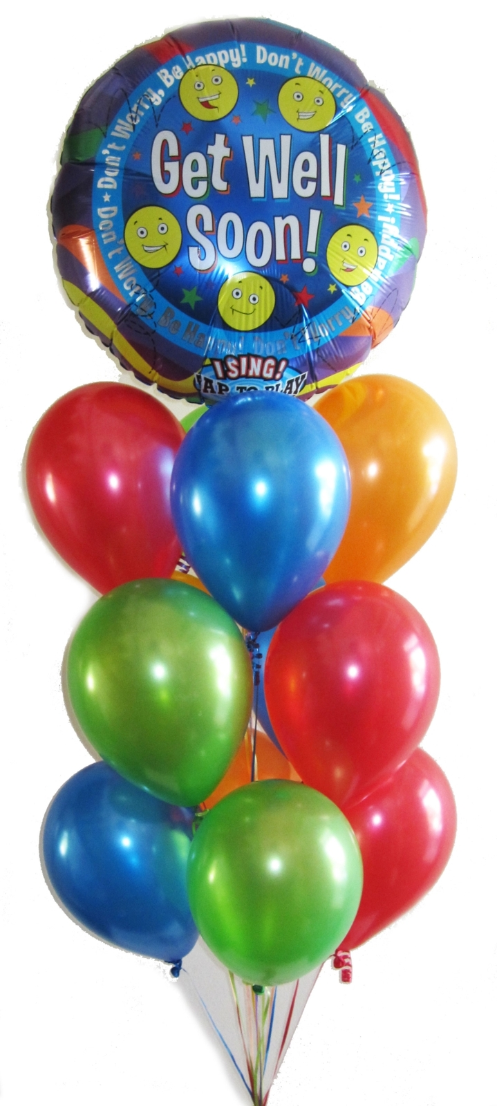 Singing Balloons Helium Perth Get Well Soon