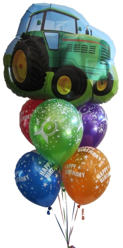 Farm Tractor Balloons Helium Balloons Perth Tractor